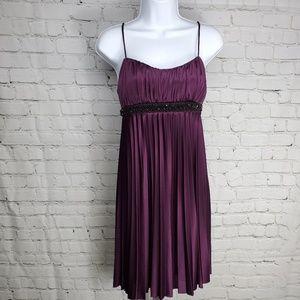Speechless Plum Cocktail Dress